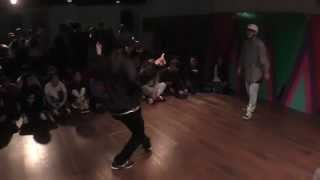 Yusei vs KANU BEST4 / OUR HIPHOP HOUR vol.2 HIPHOP DANCE BATTLE