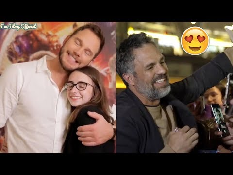 Avengers: Infinity War - Chris Pratt & Mark Ruffalo Surprises Brazilian Fans