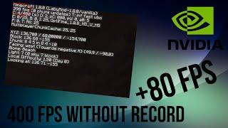 TuTo-Comment moins lag sur tous les jeux [NVIDEA](+80fps)