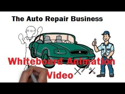 Auto Repair Whiteboard Video