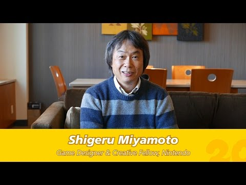 Watch Nintendo Legend Miyamoto Reminisce About Pokemon's 20th Anniversary