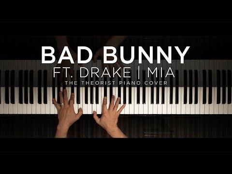 Bad Bunny ft. Drake - Mia | The Theorist Piano Cover