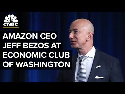 Jeff Bezos At The Economic Club Of Washington (9/13/18)