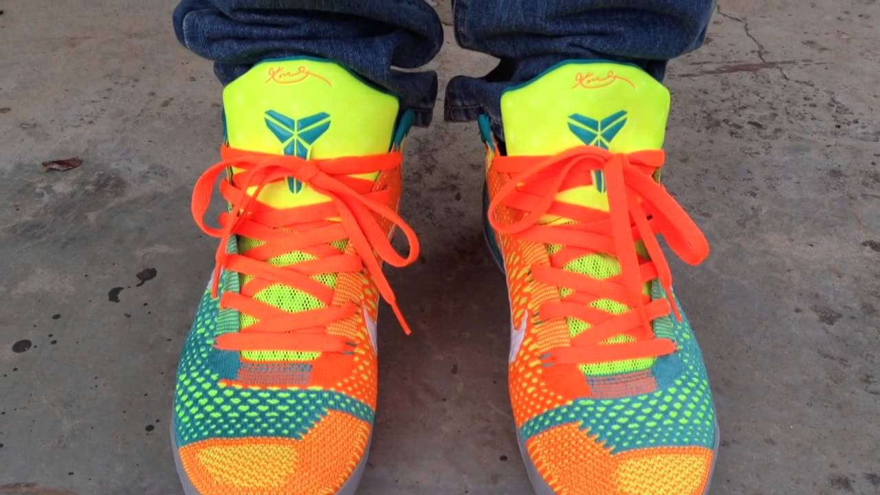 nike kobe 9 ix elite quotinfluence lowquot on feet youtube