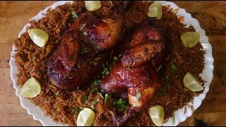 كبسة الصيادية بالدجاج لاتفوتكم جدا لذيذه من قناة المورزليرا (:
