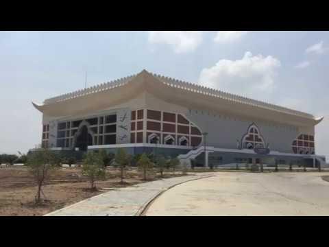Phnom Penh today Stadium in Progress Asian Sea Game 2023 Prek Pnov