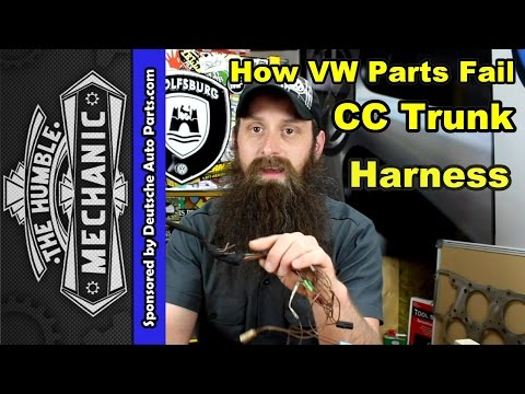 How The VW CC Trunk Harness Fails