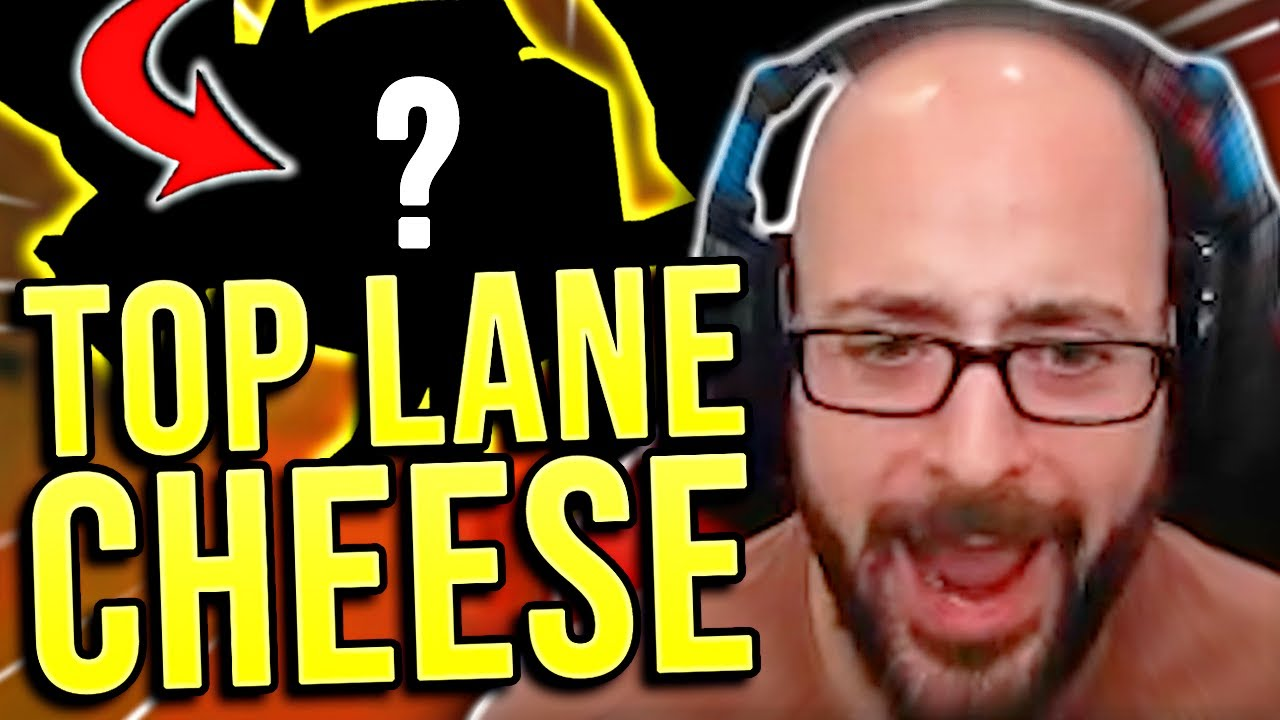 THE CHEESIEST CHAMP IN TOP LANE?!? - SRO Road to Challenger
