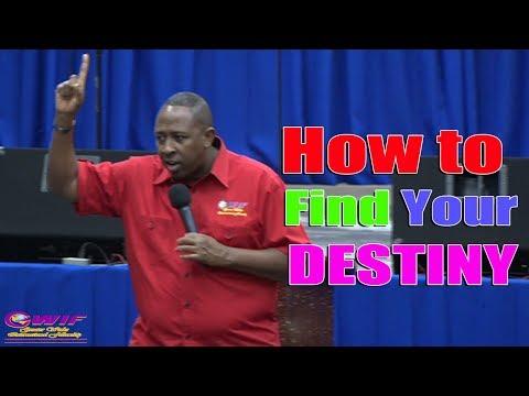 How to find your Destiny / Purpose - Apostle Andrew Scott