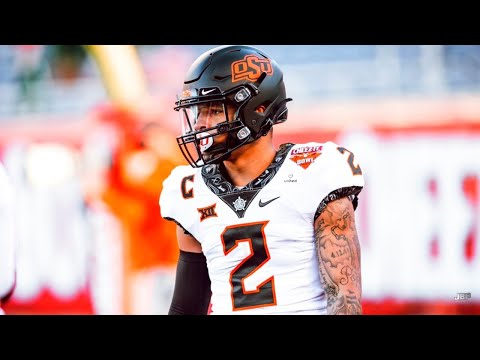 Most Explosive WR in the Big XII 💥 || Oklahoma State WR Tylan Wallace Highlights ᴴᴰ