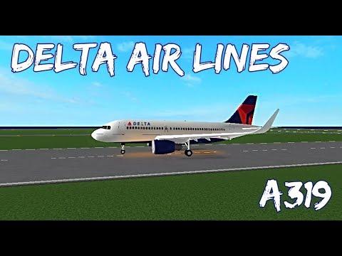 ROBLOX | Delta Air Lines A319 Flight
