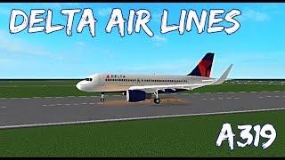 ROBLOX   Delta Air Lines A319 Flight