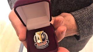 Герою России Сергею Рыжикову вручили знак «Гордость Нижневартовска»