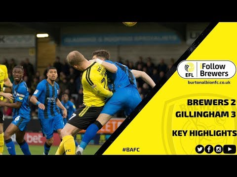 MATCH HIGHLIGHTS | Burton Albion 2-3 Gillingham