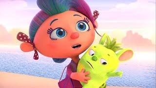 Новые мультики! Монсики - Любовь к трём шишканасам - Мультфильм для детей