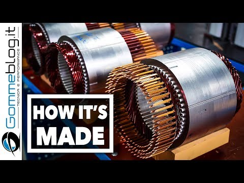 BMW Electric Drive HOW IT'S MADE - Interior BATTERY CELLS Production Assembly Line