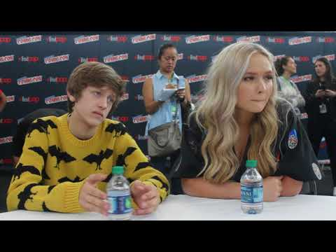 NYCC 2017 The Gifted Percy Hynes White and Natalie Alyn Lind