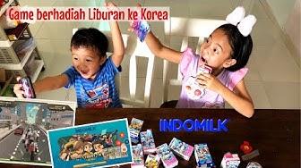Review Mainan | Zara Cute main Game Indomilk Tobot Hero berhadiah Liburan ke Korea