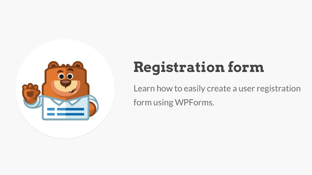 How to Create a User Registration Form in WordPress (Step by