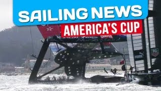 america s cup team new zealand almost capsized