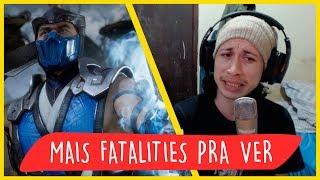 REAGINDO A TODOS OS FATALITIES LIBERADOS DO MORTAL KOMBAT 11 ATÉ AGORA