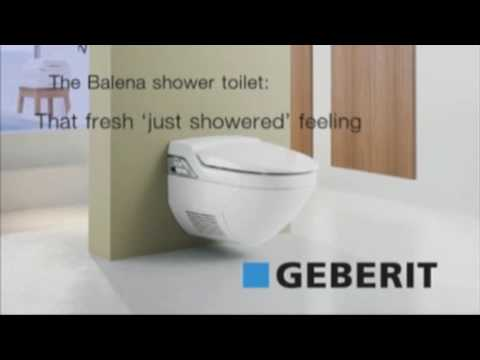 geberit balena 8000 youtube. Black Bedroom Furniture Sets. Home Design Ideas