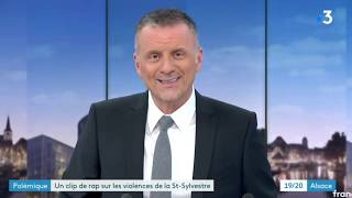 Clip rap Neuhof nouvel An interview Christophe Rouyer départemental alliance police Nationale 67