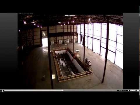 Clemson University Wind Turbine Drivetrain Testing Facility Construction