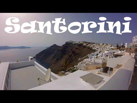 A Walking Tour of Fira (the Main Town) on Santorini, Greece