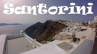 A Walking Tour of Fira (the Main Town) on Santorini, Greece