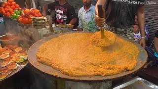 Indian People Love to Eat Pav Bhaji - Mumbai Special Food In Kolkata Street - Street Food Online