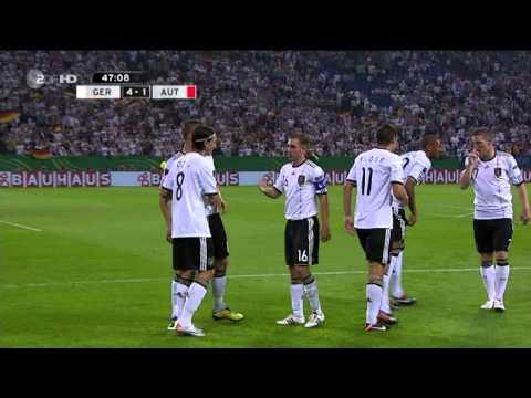 Deutschland vs Österreich 6-2 Alle Tore Highlights EM-Quali (02.09.11) HD