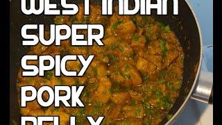 Jamaican Chilli Pork Recipe - chili
