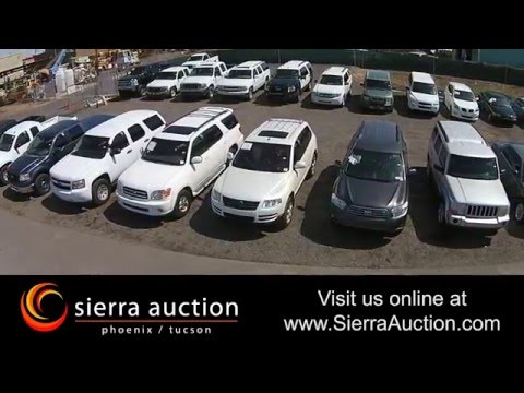 Sierra Auto Auction >> Sierra Auction Arizona S Largest Public Auction Youtube
