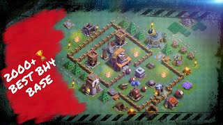 Best BH4 base - Clash of Clans - Miglior base del costruttore liv.4 -