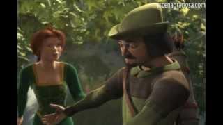 Escena Graciosa de ''Shrek 1''- Robin Hood