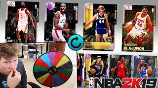SPIN THE WHEEL OF DRAFTS! NBA 2K19
