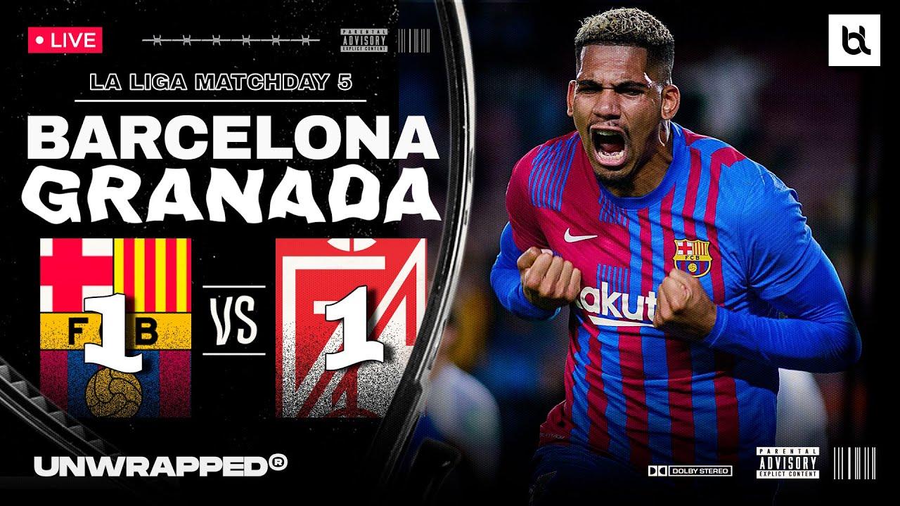Barcelona vs. Granada - Football Match Report - September 20 ...