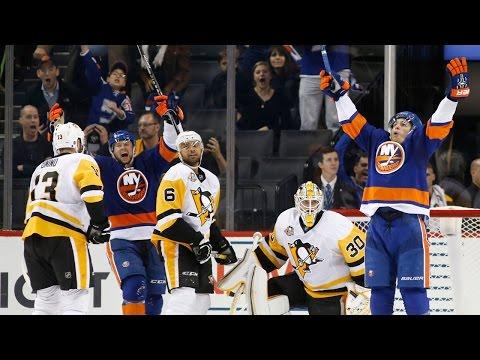 Watch: Islanders score two goals in three seconds