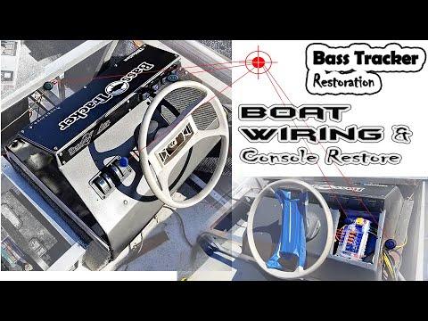 sreering console upgrades bass tracker restoration, wiring fuses, led\u0027s jon boat wiring diagram sun tracker pontoon boat owner& 39;s manual