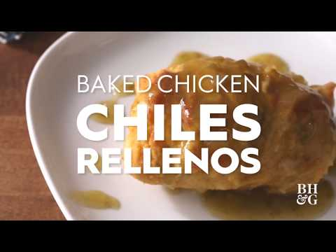 Homemade Chicken Chiles Rellenos | Cooking: How-To | Better Homes & Gardens