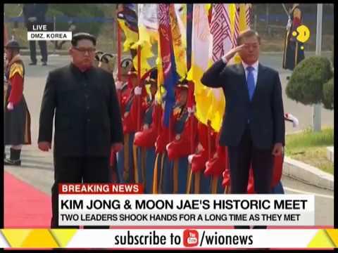 Kim Jong-un is the 1st Korean leader to visit South Korea since 1953