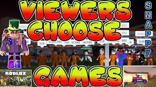 Viewers Choose Games (Roblox JailBreak , MM2 , Pet Simulator) | 🔴 LIVE