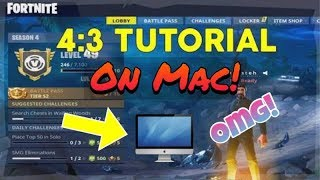 COMMENT OBTENIR FORTNITE! (1440x1080 STRETCHED!) N'IMPORTE QUEL MAC! «Ne fonctionne plus!