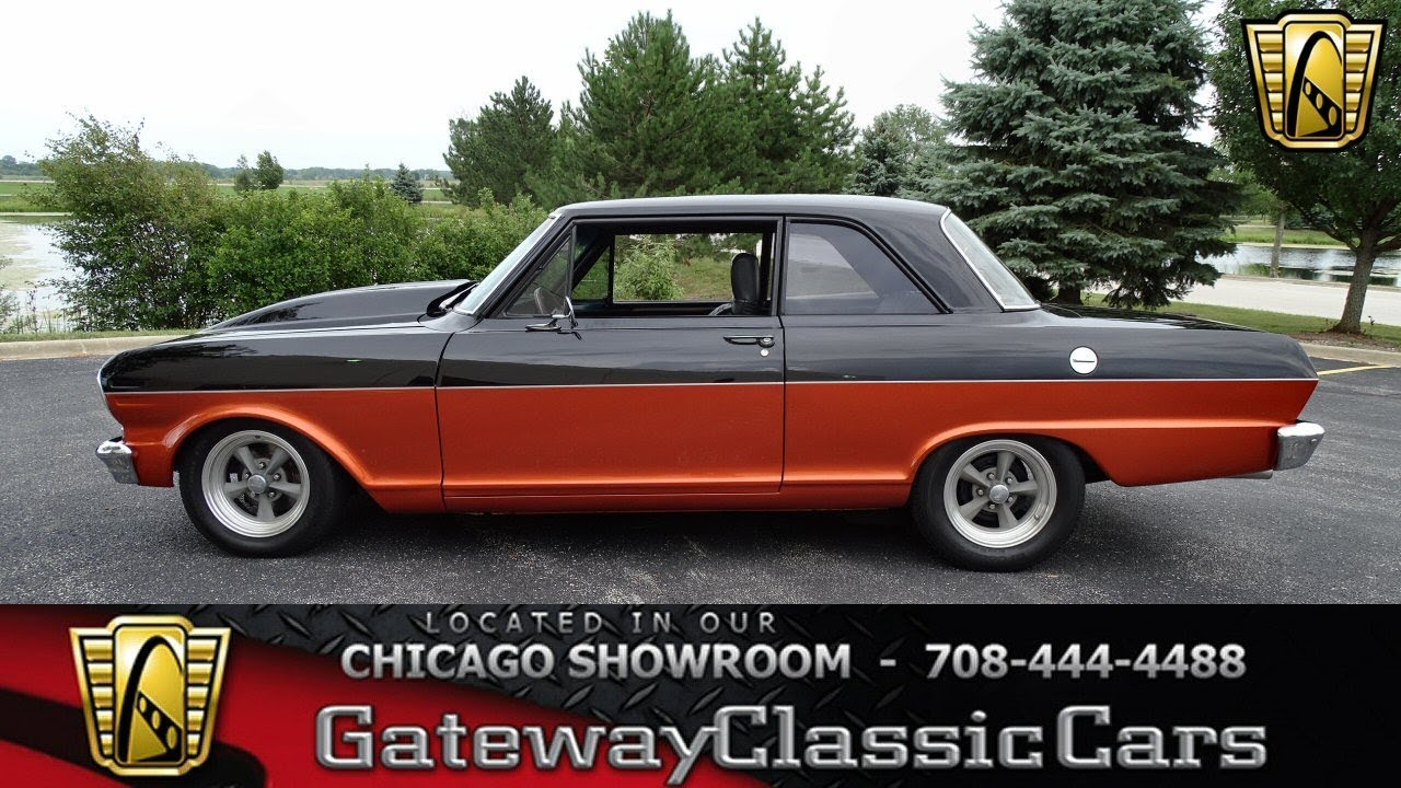 1963 Chevrolet Chevy II Gateway Clic Cars Chicago #1265 - YouTube