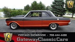 1963 Chevrolet Chevy II Gateway Classic Cars Chicago #1265