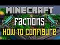 Factions Bukkit Plugin How to Configure and Use Tutorial 1.11.2