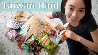 Taiwan Haul – Personal Care Products & Snacks!