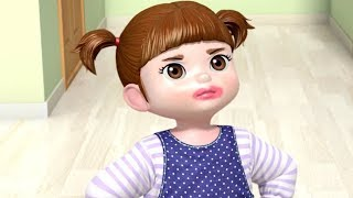 Kongsuni and Friends | A Night Without Mom | Kids Cartoon | Toy Play | Kids Movies