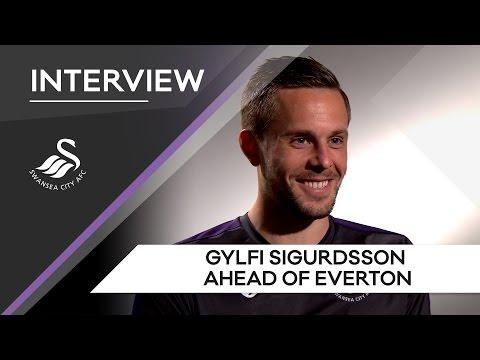 Swans TV - Gylfi Sigurdsson : Ahead of Everton